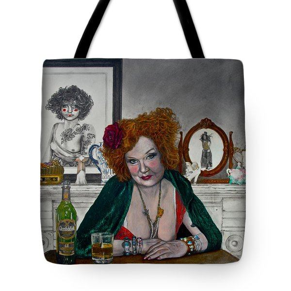 Waiting For Mr. Goodbar Tote Bag by TP Dunn