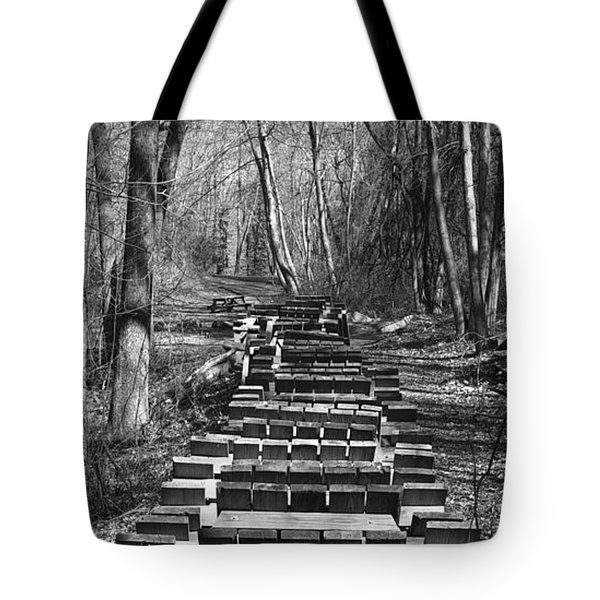 Waiting For Orders Tote Bag