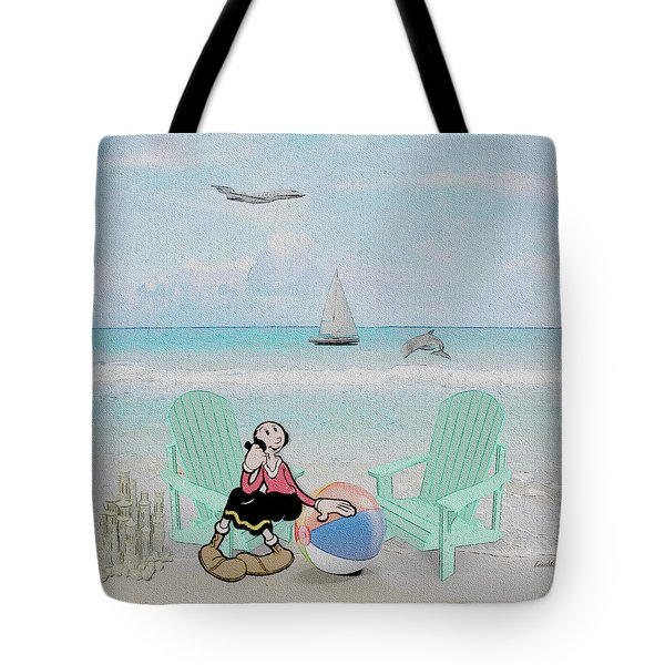Waiting For Popeye Tote Bag