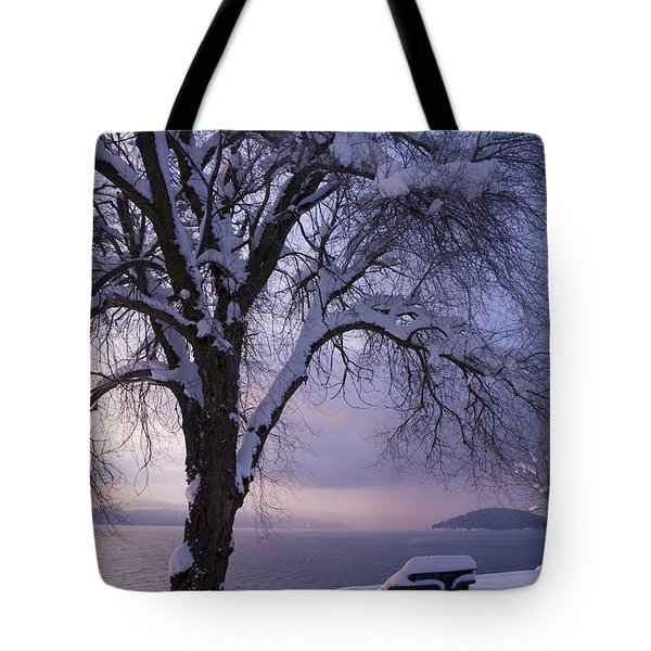 Waiting For Spring Tote Bag by Idaho Scenic Images Linda Lantzy