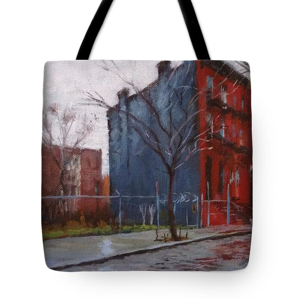 Waiting For Spring No. 2 Tote Bag by Peter Salwen