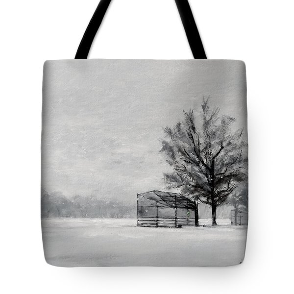 Waiting For Spring Tote Bag by Peter Salwen