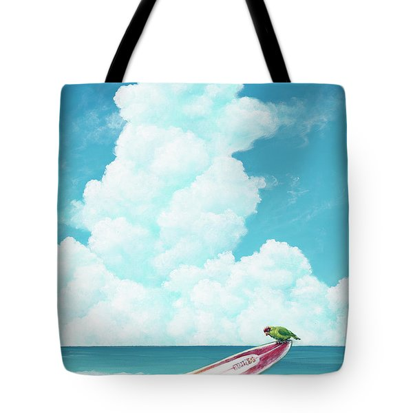 Waiting For Surf Tote Bag