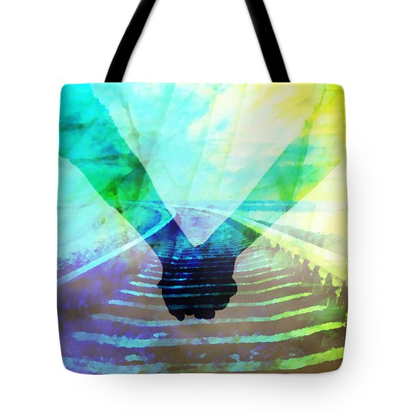 Waiting For The Midnight Train Tote Bag