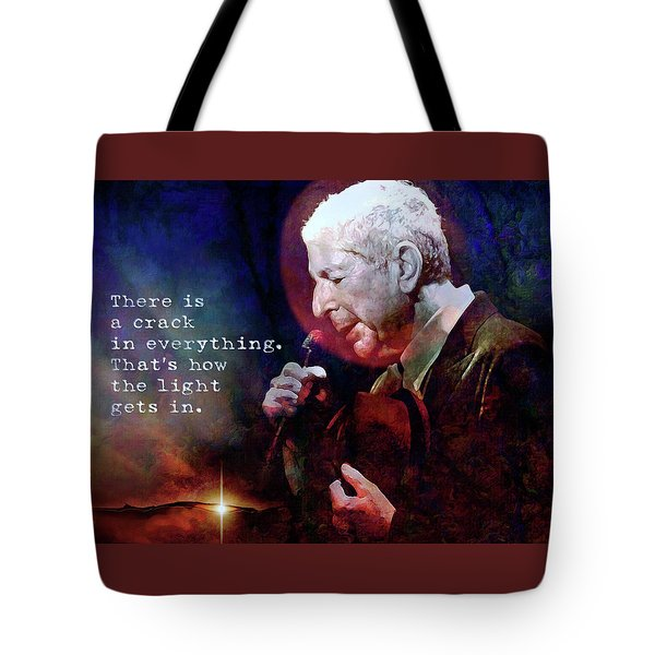 Waiting For The Miracle To Come Tote Bag