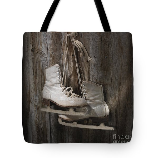 Waiting For The Pond To Freeze Tote Bag by Jerry McElroy