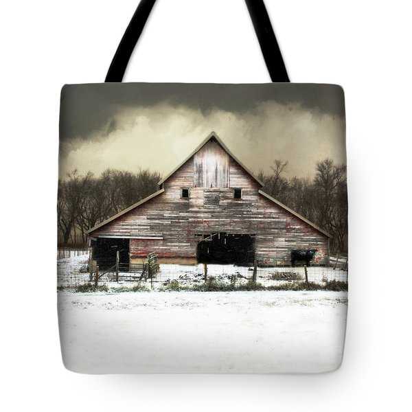 Tote Bag featuring the photograph Waiting For The Storm To Pass by Julie Hamilton