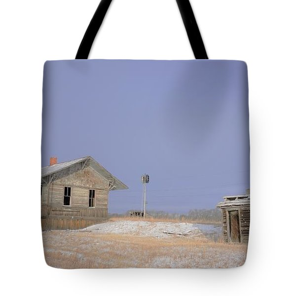 Waiting For The Train To Come Tote Bag