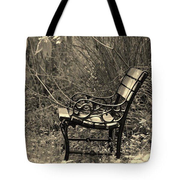 Waiting For You Tote Bag by Susanne Van Hulst