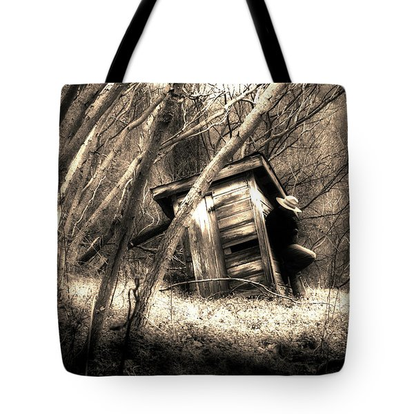 Tote Bag featuring the photograph Waiting... by Gray  Artus