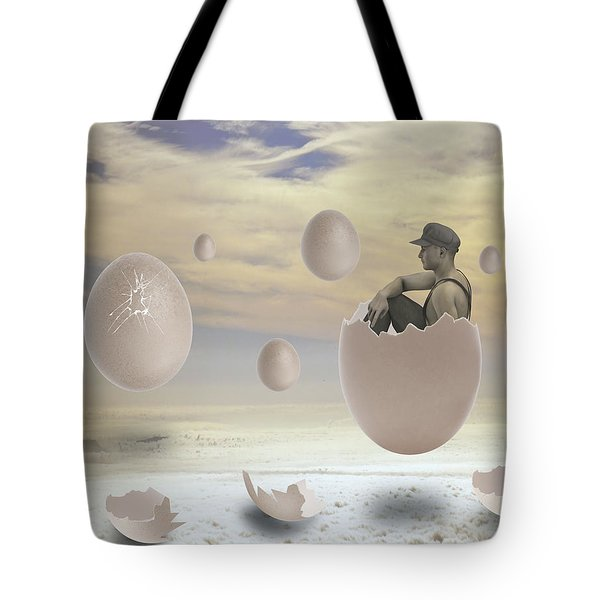 Waiting In Anticipation Tote Bag
