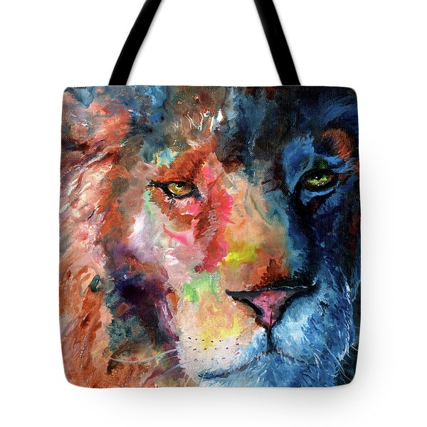 Waiting In The Shadows Tote Bag by Sherry Shipley