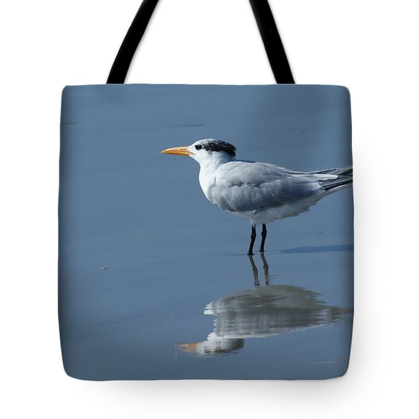 Waiting In The Surf Tote Bag