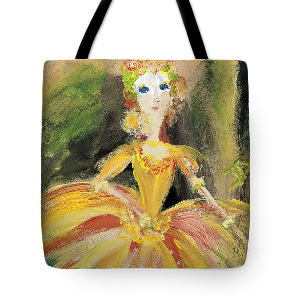 Waiting In The Wings Tote Bag by Judith Desrosiers