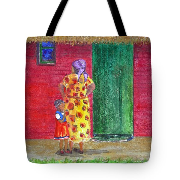 Waiting In Zimbabwe Tote Bag