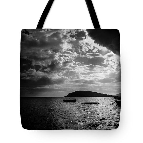 Tote Bag featuring the photograph Waiting by Julian Cook
