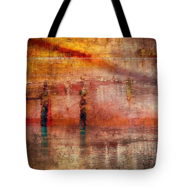 Waiting Tote Bag by Marcia Lee Jones