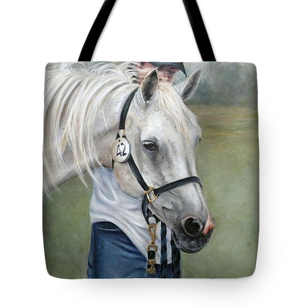 Waiting Tote Bag by Mary McCullah