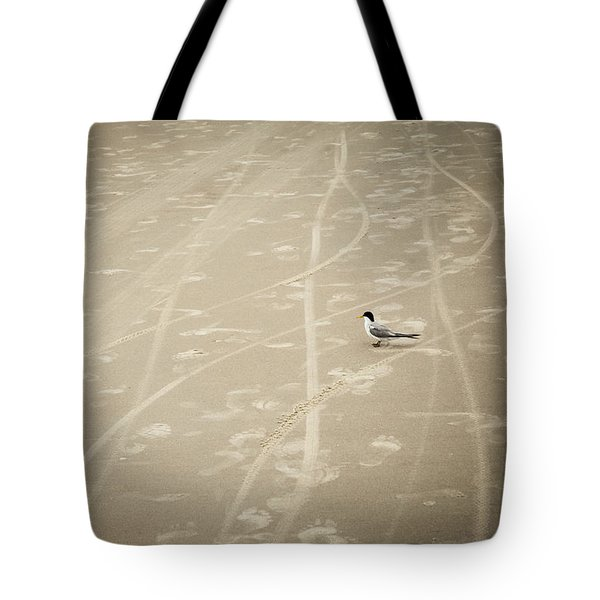 Waiting My Turn Tote Bag by Carolyn Marshall