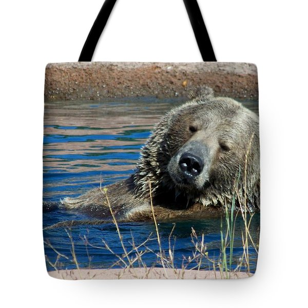 Waiting On Lunch Tote Bag by Karen Wiles