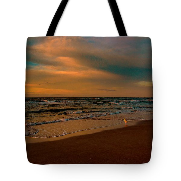 Waiting On The Dawn Tote Bag
