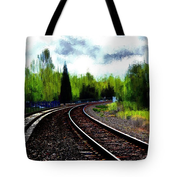 Waiting On The Southern Tote Bag by Terence Morrissey