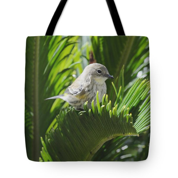 Waiting Or Thinking Tote Bag by Debby Pueschel