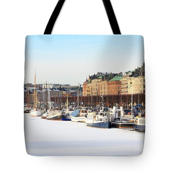 Tote Bag featuring the photograph Waiting Out Winter by David Chandler