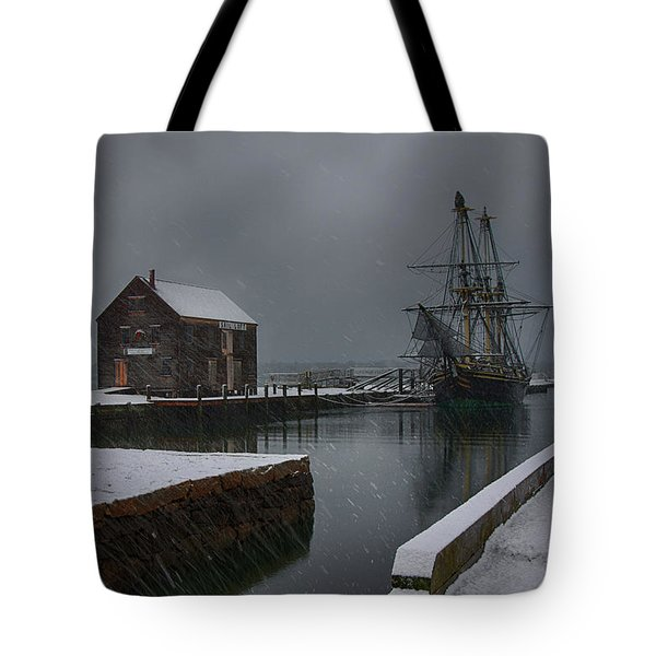 Waiting Quietly Tote Bag
