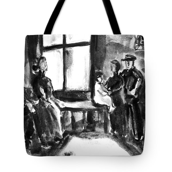 Waiting Room Tote Bag
