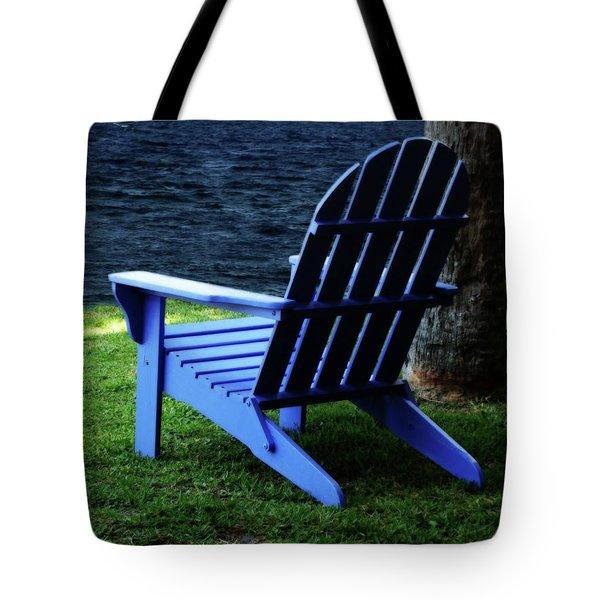 Waiting Tote Bag by Sandy Keeton