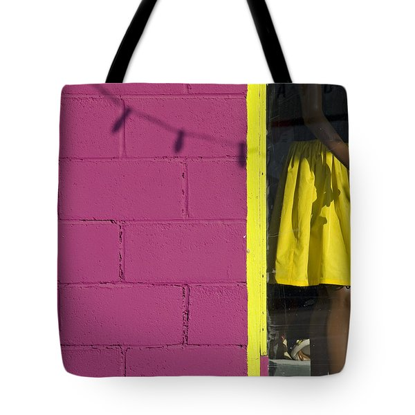 Waiting Tote Bag by Skip Hunt