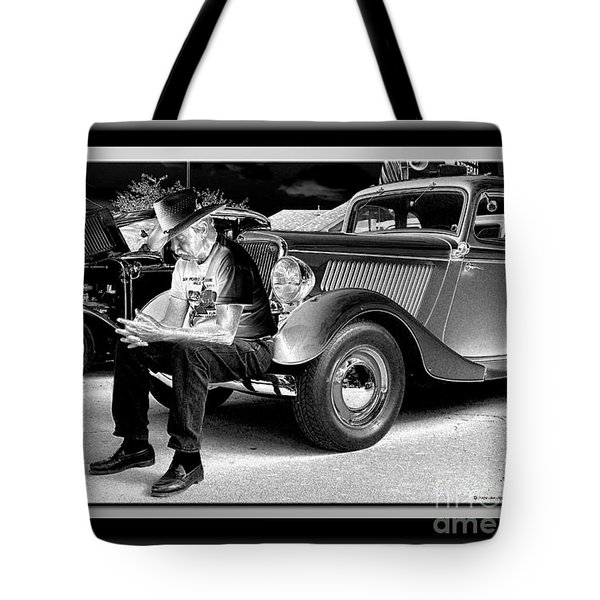 Waiting  Tote Bag by Sue Stefanowicz