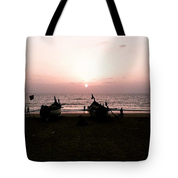 Waiting To Fish Tote Bag