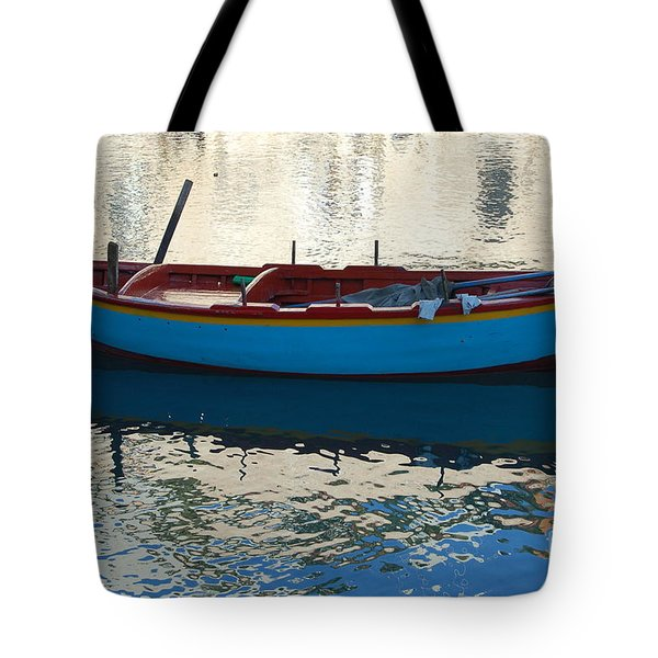 Waiting To Go Fishing Tote Bag