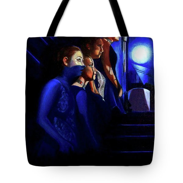 Waiting To Go On Tote Bag