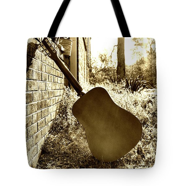 Waiting To Play Tote Bag