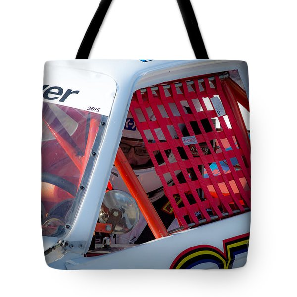 Waiting To Race Tote Bag