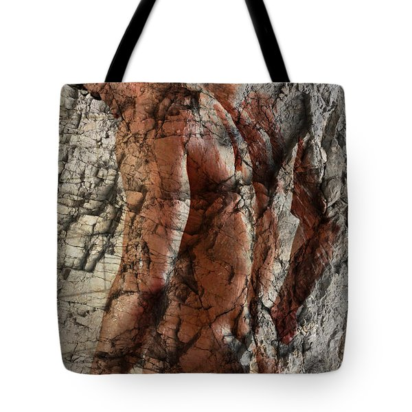 Waiting  To The One  Tote Bag by Mark Ashkenazi