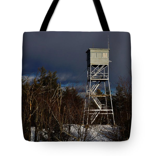 Waiting Tower Tote Bag