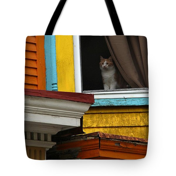 Waiting... Tote Bag by Yvonne Wright