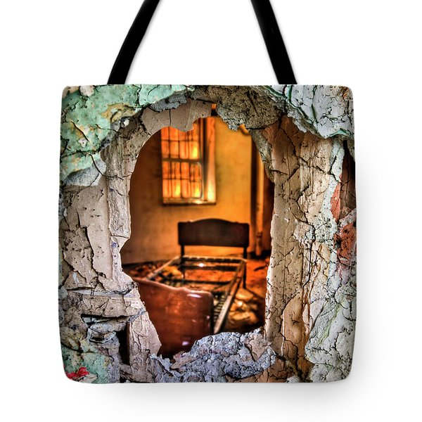 Wake Up And Smell The Misery Tote Bag by Evelina Kremsdorf