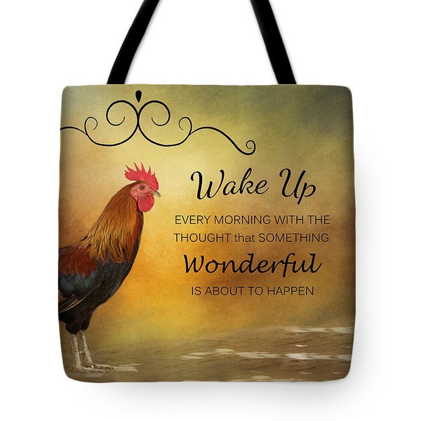 Wake Up Tote Bag