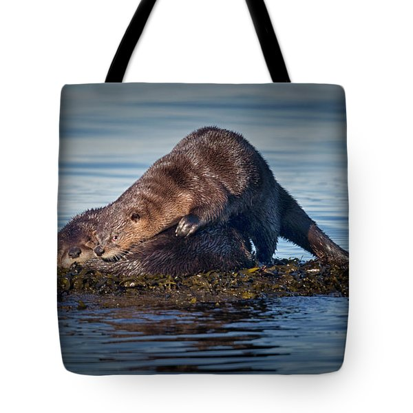 Tote Bag featuring the photograph Wake Up by Randy Hall