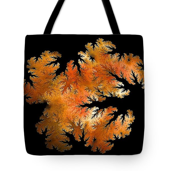 Waking In Mandelbrot Forest-2 Tote Bag