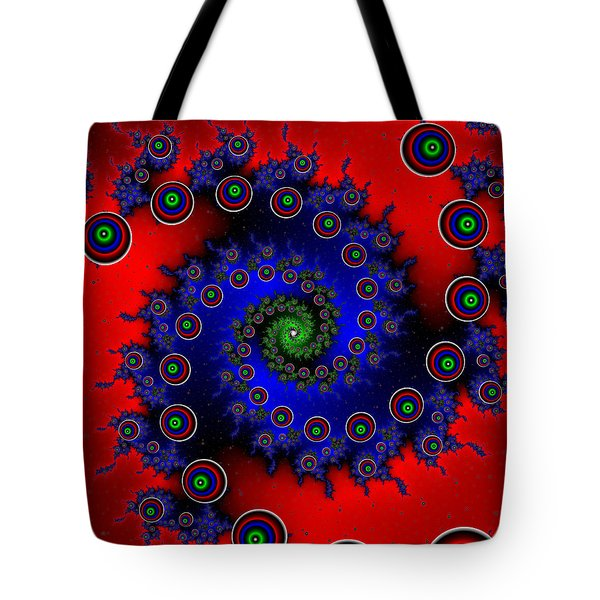 Tote Bag featuring the digital art Walcilites by Andrew Kotlinski