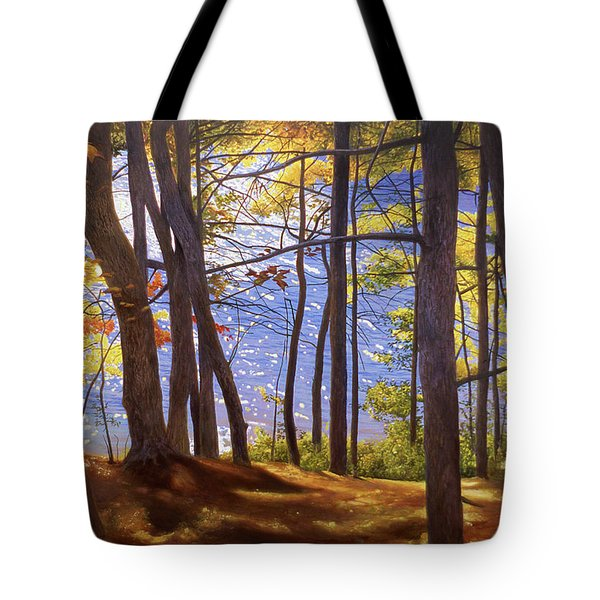 Walden Pond IIi Tote Bag by Art Chartow