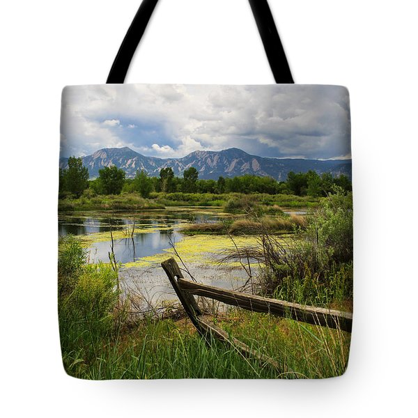 Waldon Ponds Tote Bag