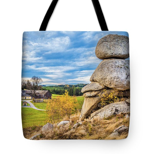 Waldviertel Tote Bag by JR Photography