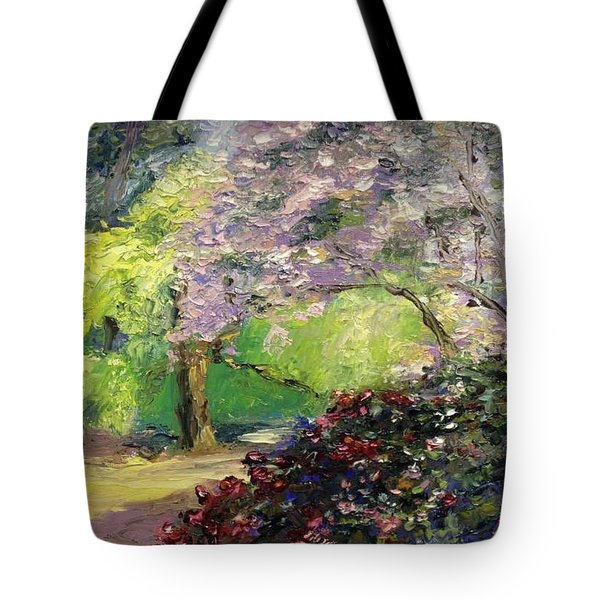 Wales Garden Tote Bag